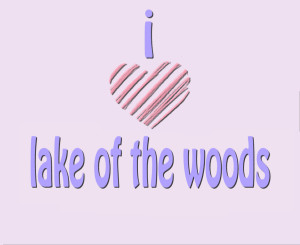 I HEART LAKE OF THE WOODS