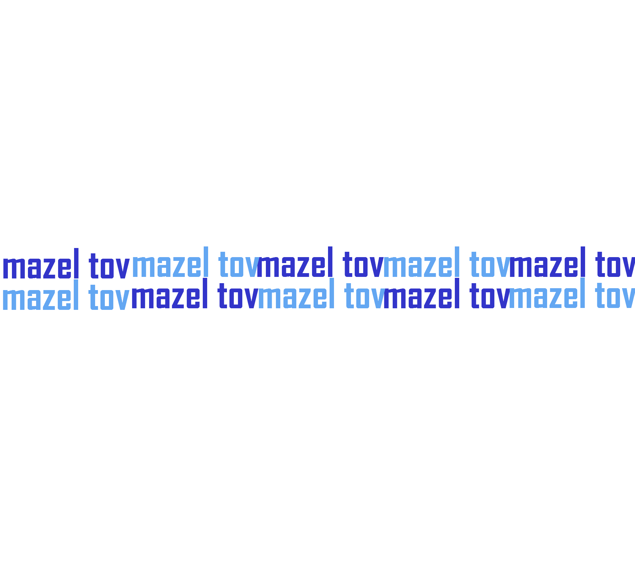 MAZEL TOV (3)