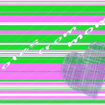 pink and green notes