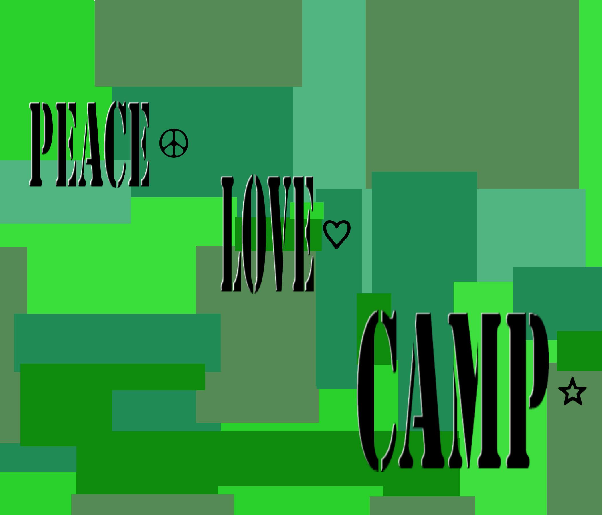 PEACE...LOVE...CAMP (3)