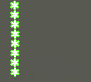 ROLL WITH IT (green/grey)