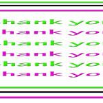 ty - many thanks