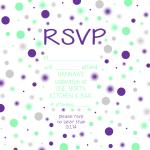 RSVP CARD (front)
