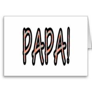 PAPA (orange argyle)