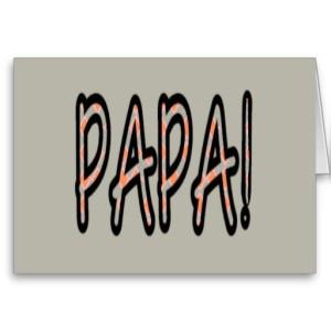 PAPA (orange argyle with grey)