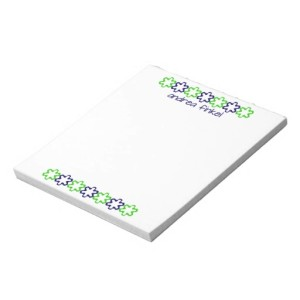 PERSONALIZED NOTE PAD