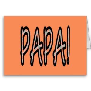 PAPA (orange argyle with orange)