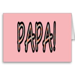 PAPA (orange argyle with pink)