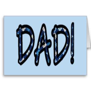 DAD (blue argyle with blue)