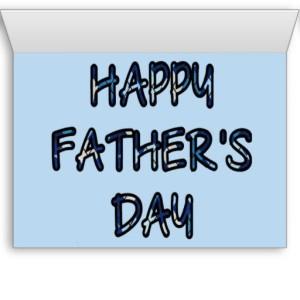 DAD INSIDE (blue argyle with blue)