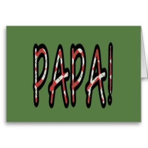 PAPA (red argyle with green)