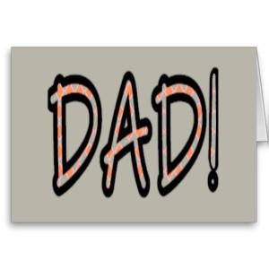 DAD (orange argyle with grey)