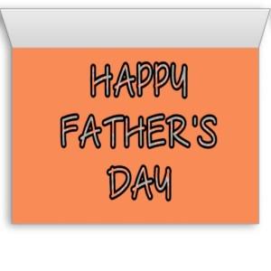 DAD INSIDE (orange argyle with grey)