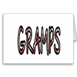 GRAMPS (red argyle)