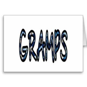 GRAMPS (blue argyle)