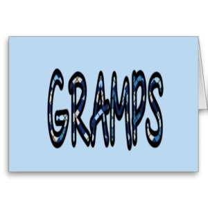 GRAMPS (blue argyle with blue)