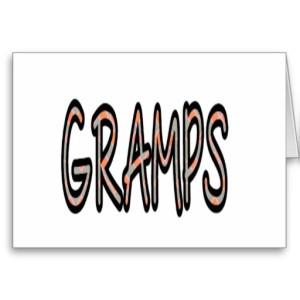GRAMPS (orange argyle)