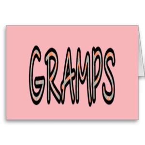 GRAMPS (orange argyle with pink)