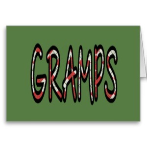 GRAMPS (red argyle with green)