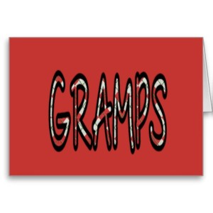 GRAMPS (red argyle with red)