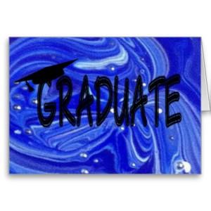 CONGRATS GRADUATE (blue)